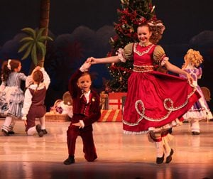 """Nutcracker Key West"" children dancing"