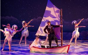 Nutcracker Key West sailboat scene