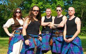 Scottish band Albannach