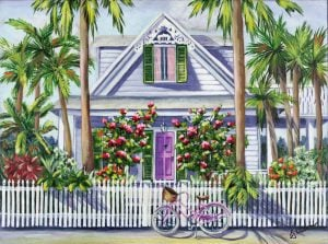 Key West home tours poster