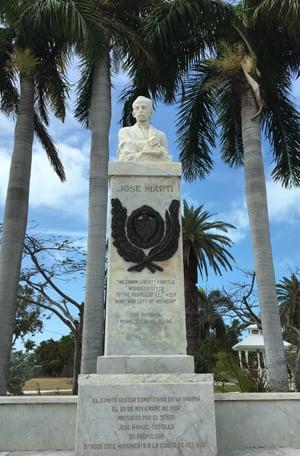 Jose Marti statue Key West