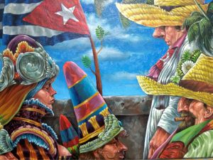Cuban art displayed in Key West