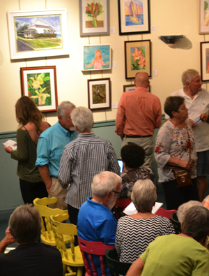 Florida Keys Watercolor Society show