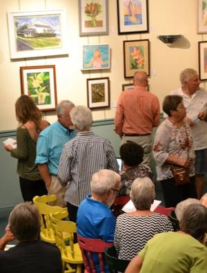 Florida Keys Watercolor Society show
