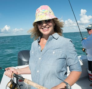 Michelle Bernstein PBS Keys fishing