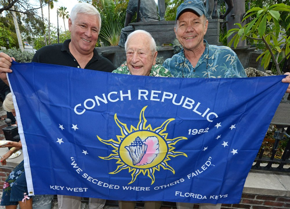 Florida Keys Conch Republic founders and flag