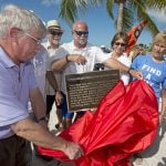 Diana Nyad Key West plaque unveiling
