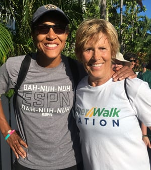 """Good Morning America's Robin Roberts, Diana Nyad Key West"