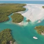 Florida Keys land and water environment