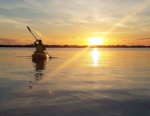 Florida Keys sunset kayak