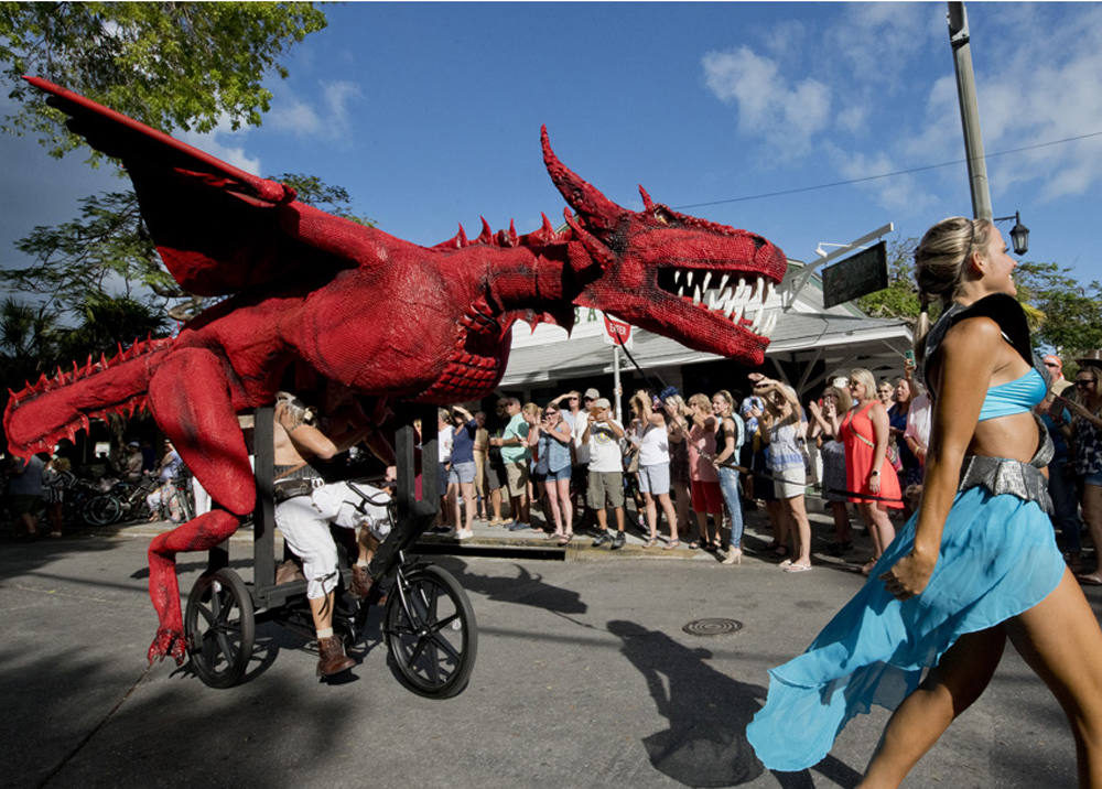Papio Kinetic Sculpture Parade Key West