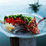Marathon Castaway Restaurant lionfish sushi