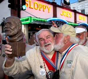 Hemingway Look-Alike winner 2019 Key West