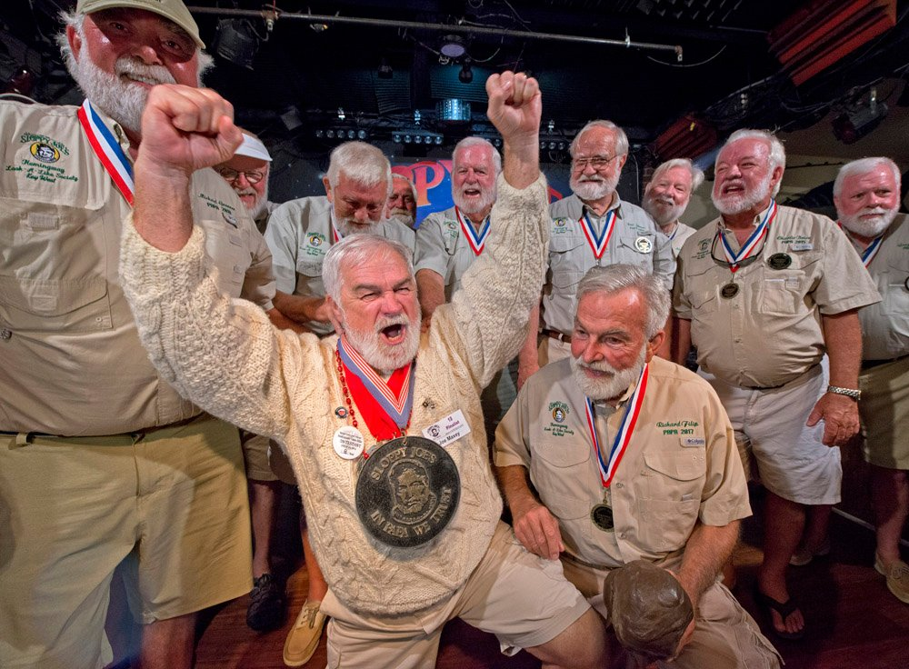 Hemingway Look-Alike winner Key West 2019