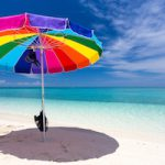 Beach Umbrella Dry Tortugas National Park