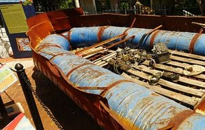 Cubal raft Mel Fisher Museum Key West