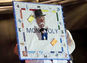 Monopoly Headdress Ball Key West