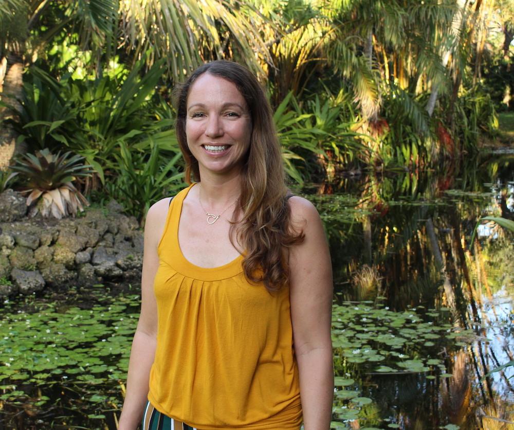 Alli Candelmo marine ecologist Florida Keys