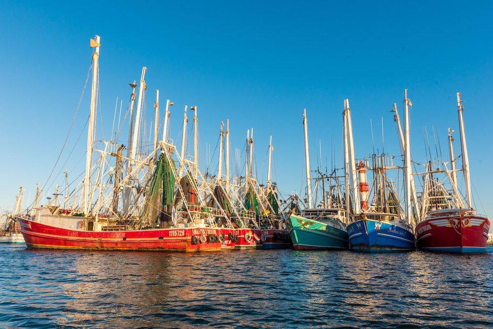 Stock Island shrimp boats Florida Keys