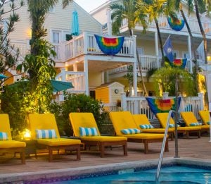 Equator Resort pool area Key West