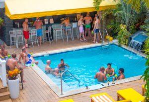 Equator pool bar Key West