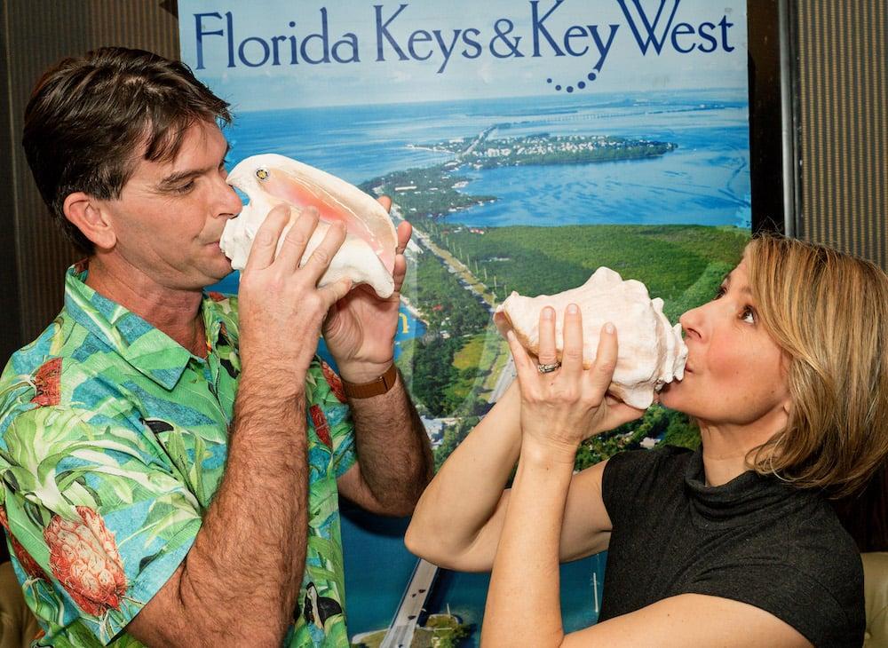 Samantha Brown Florida Keys conch shell