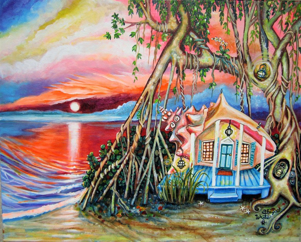 """Paradise Cove"" by Keys artist Abigail White"