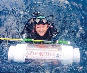 Rachel Bowman lionfish harvester Florida Keys