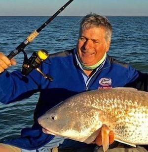 Florida Keys angler redfish