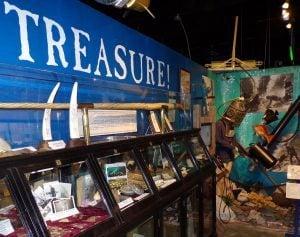 treasure room Diving Museum Islamorada