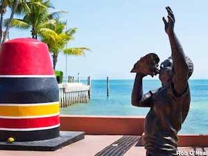 Al Kee sculpture Key West