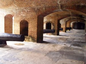 Fort Zachary Taylor archways