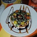 Caprese flatbread Key West restaurant
