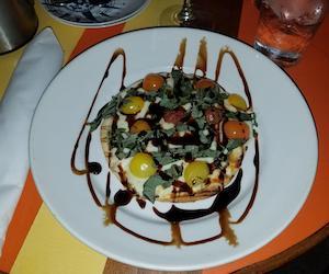 Caprese flatbread Key West restaurant