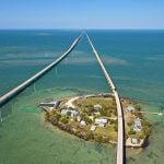 Pigeon Key Old Seven Mile Bridge Florida Keys