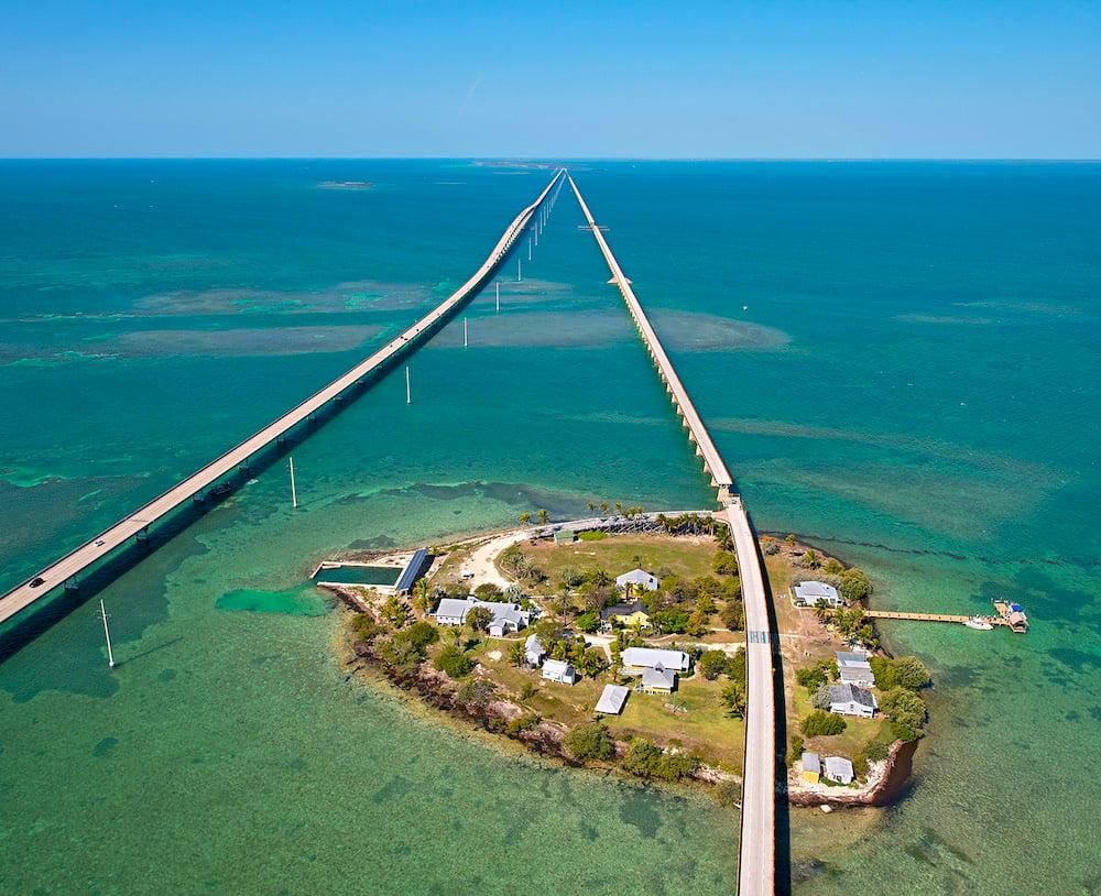 Pigeon Key Old Seven Mile Bridge Florida Keys