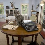 Hemingway Home writing studio Key West