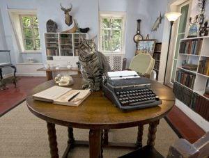 Hemingway Home writing studio Key West