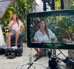 Island Hopping Florida Keys television production