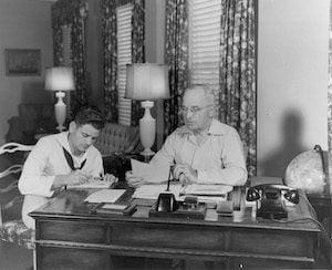 Truman desk Key West