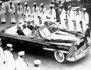 Harry Truman historic limo Key West
