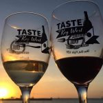 Taste of Key West wine at sunset