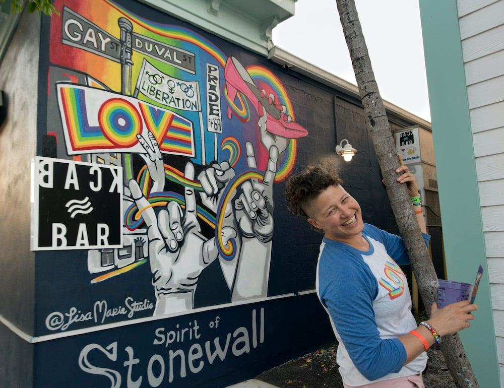 Key West Pride art