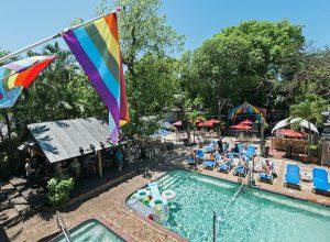 LGBTQ Key West resort pool