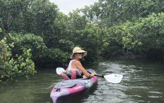 Sarah Fangman paddle board Key West