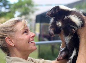 Jeanne Selandr skunk Florida Keys