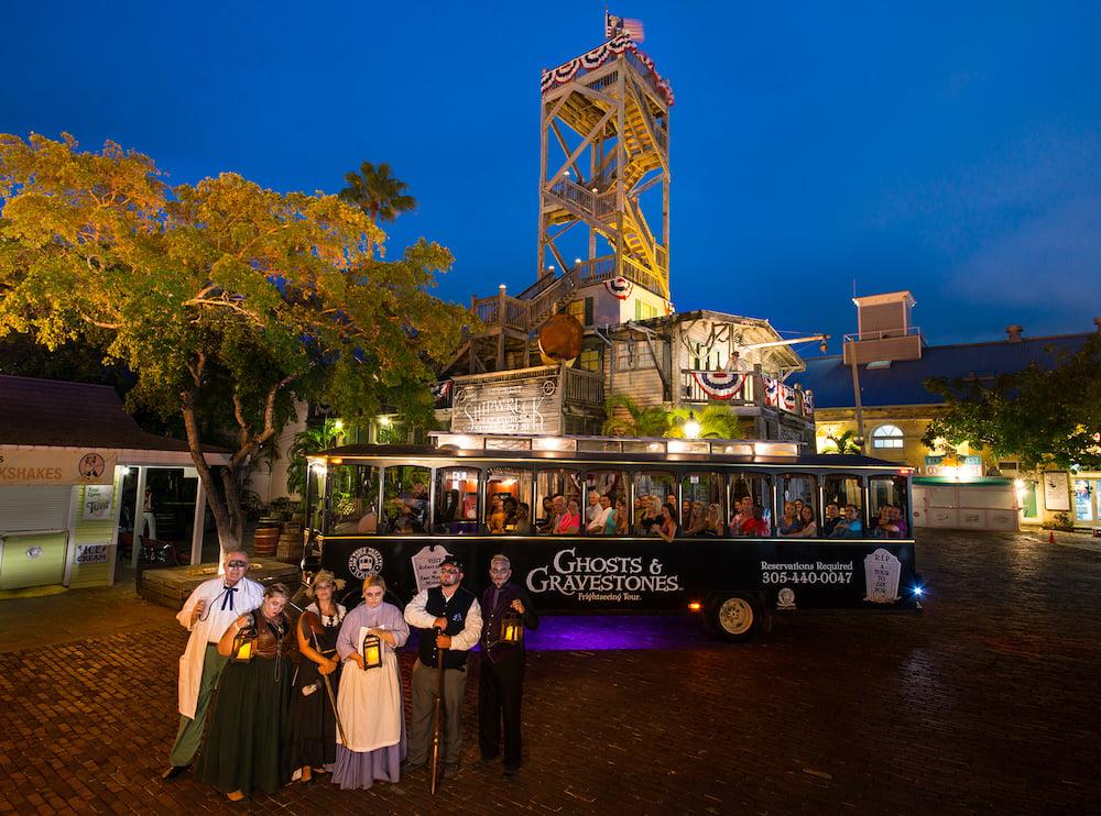 Ghosts & Gravestones trolley Key West