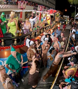 Key West Fantasy Fest parade