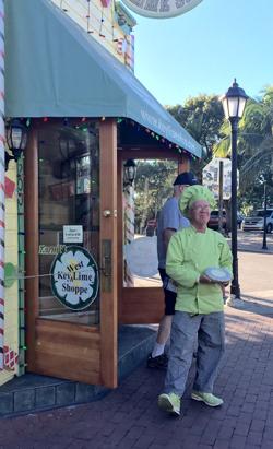 Key West Kermit Key lime pie