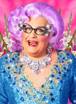Michael Walters as Dame Edna